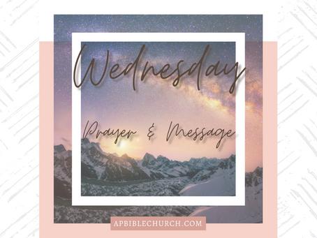 Wednesday Evening Revelation Study Announcement
