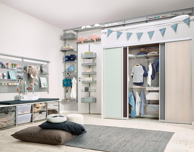 Elfa_Sliding-doors_Vista_childrens-room.