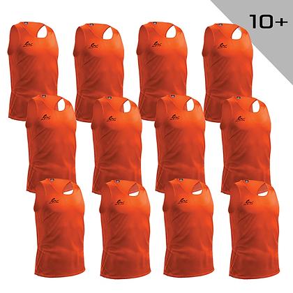 Veste d'entraînement - orange pour 10+