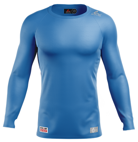 Long Sleeve Compression Gear - Royal