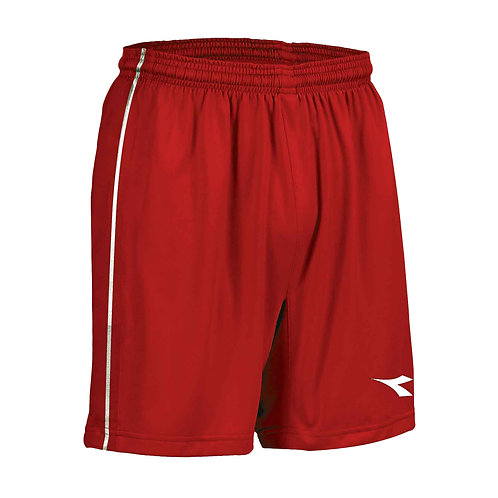 SHORT DE GARDIEN DE BUT - COMPÉTITIF - ROUGE
