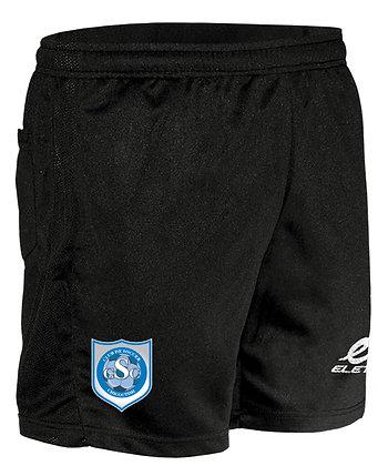 Short entraîneur avec poches et logo club