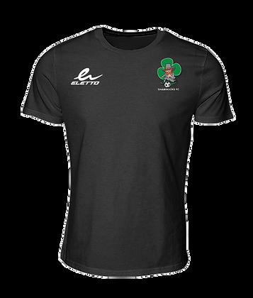 T-shirt Eletto FC Shamrocks noir (Enfant)