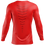 Thumbnail: MAILLOT DE COMPRESSION À MANCHES LONGUES ELEMENT GEAR - ROUGE