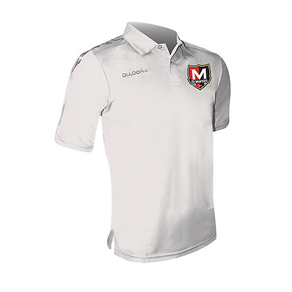 Polo Blanc Conquer Elite Monteuil (ENTRAÎNEURS)