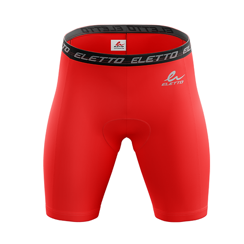 SHORT DE COMPRESSION ELEMENT GEAR - ROUGE