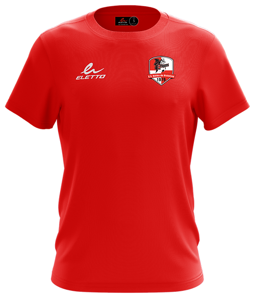T-SHIRT ELETTO CLASSIC - ROUGE