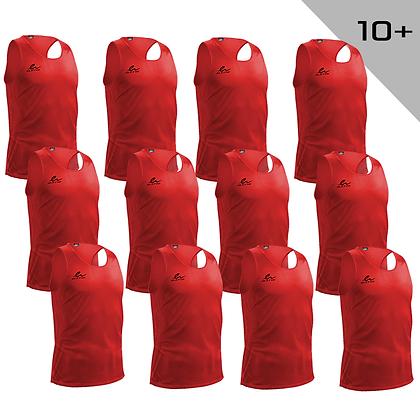 Veste d'entraînement - rouge pour 10+
