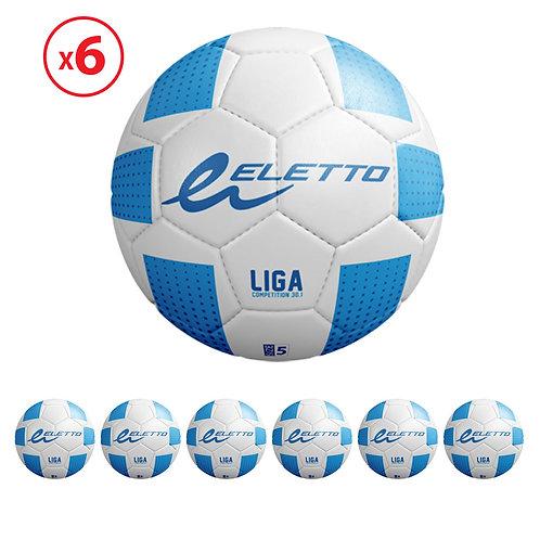 6 BALLONS LIGA COMPETITION 30.1