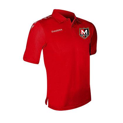 Polo Rouge Conquer Elite Monteuil (FANS)