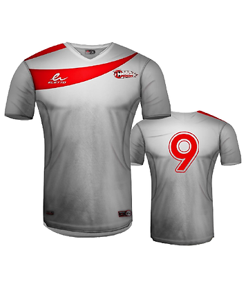 BYSC Official Jersey 2015 - White - With Number