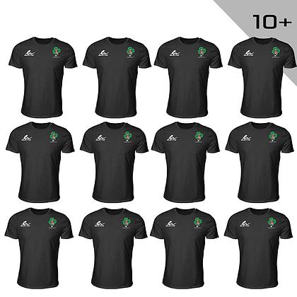 T-shirt Eletto FC Shamrocks noir (Enfant) 10+