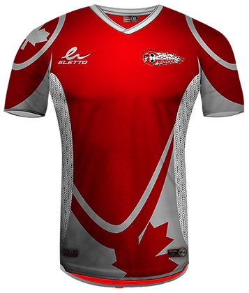 BYSC Official Jersey 2015 - Red (No Number)