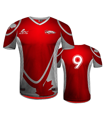 BYSC Official Jersey 2015 - Red - with Number
