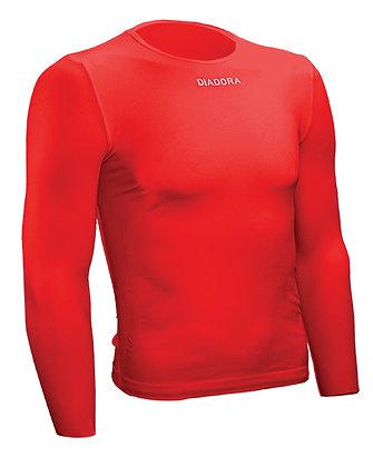 Sous-vêtement manches longues Rouge