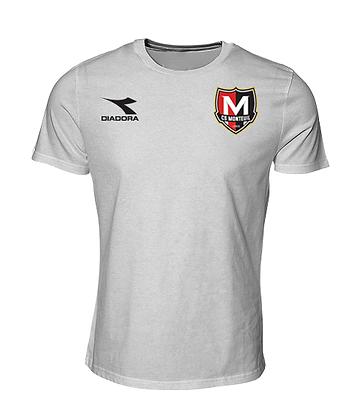 T-shirt Blanc Monteuil - Diadora