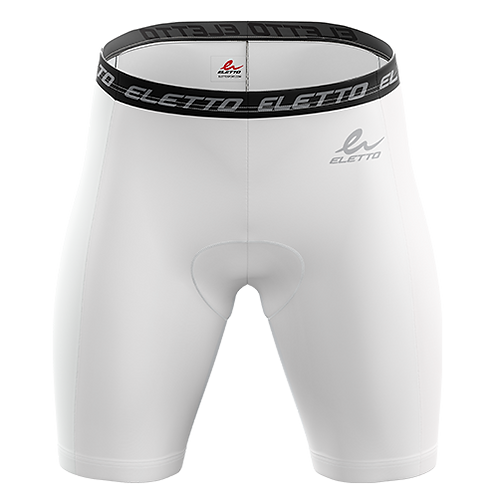 Shorts de Compression Blancs