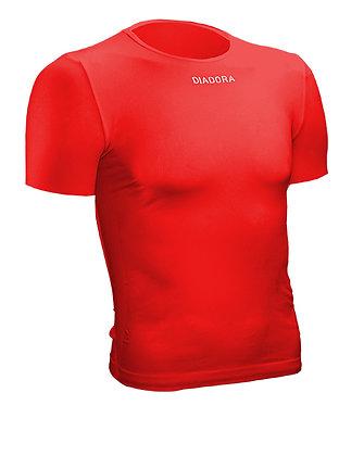 Sous-vêtement manches courtes Rouge