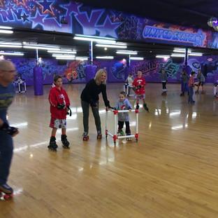 Kidz skating event
