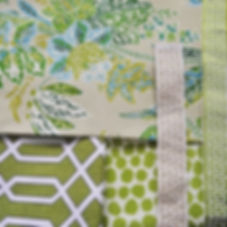 The Chatham Collection fabric green thro