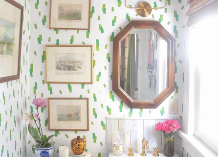 My First One Room Challenge - The Grandmillennial Powder Room Renovation Reveal is Here