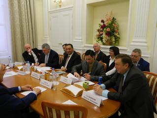 Совещание в ТПП РФ с представителями Ирака.