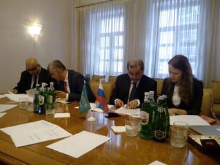 Встреча с делегацией из Саудовской Аравии в Москве