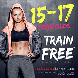 FUNKY PUMP - 15-17 year old train free-0