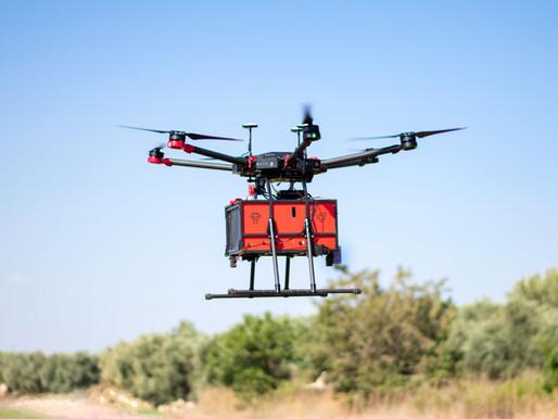כתבה על Drone2door בדה מארקר