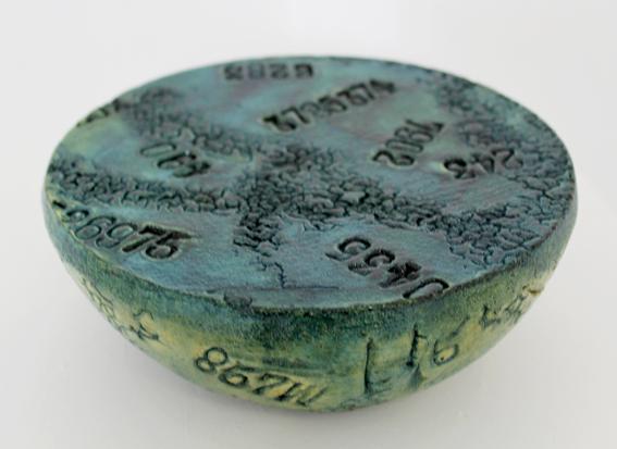 Coded ceramic