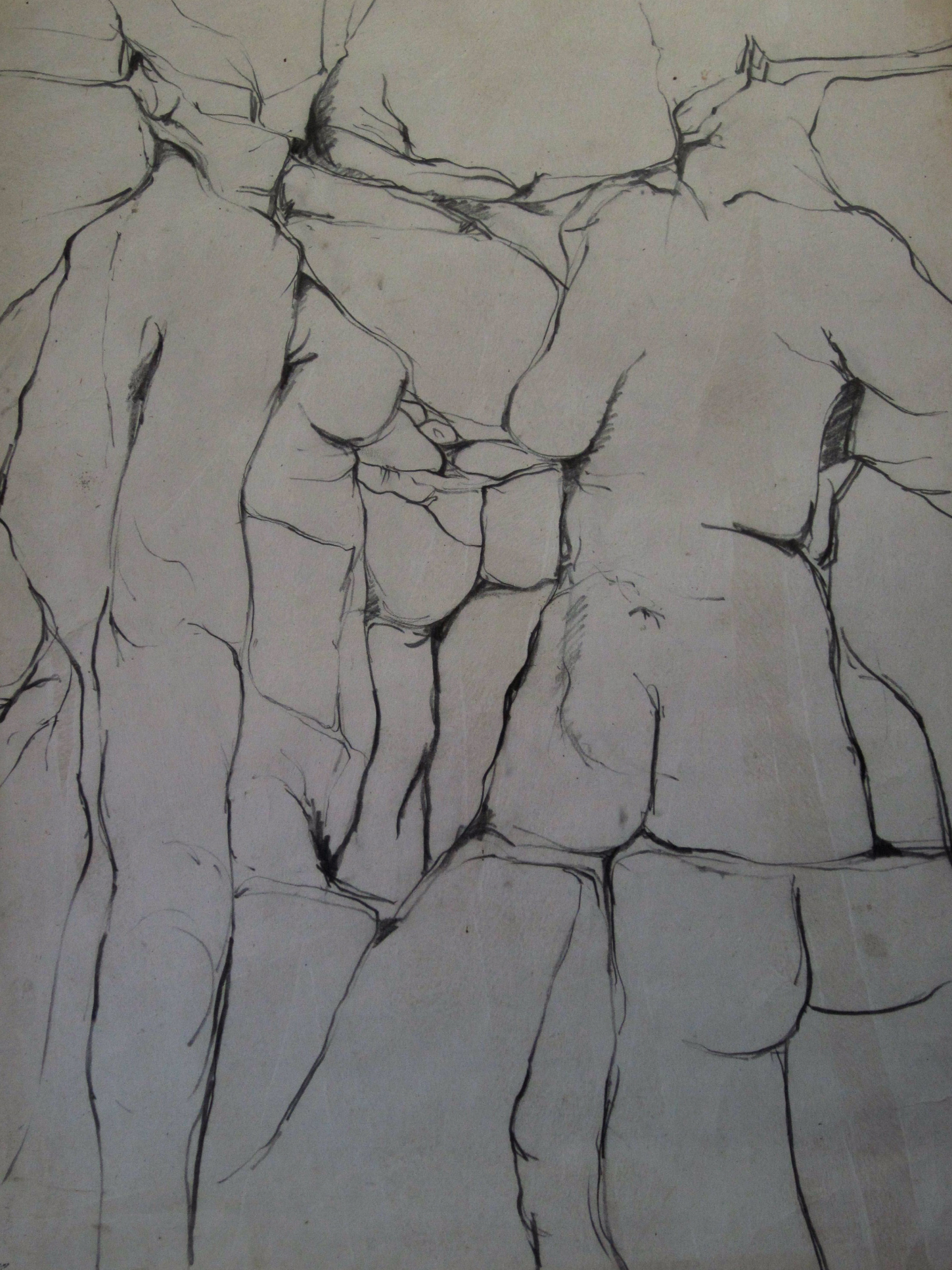 Derivative life drawing