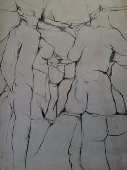 Derivative life drawing