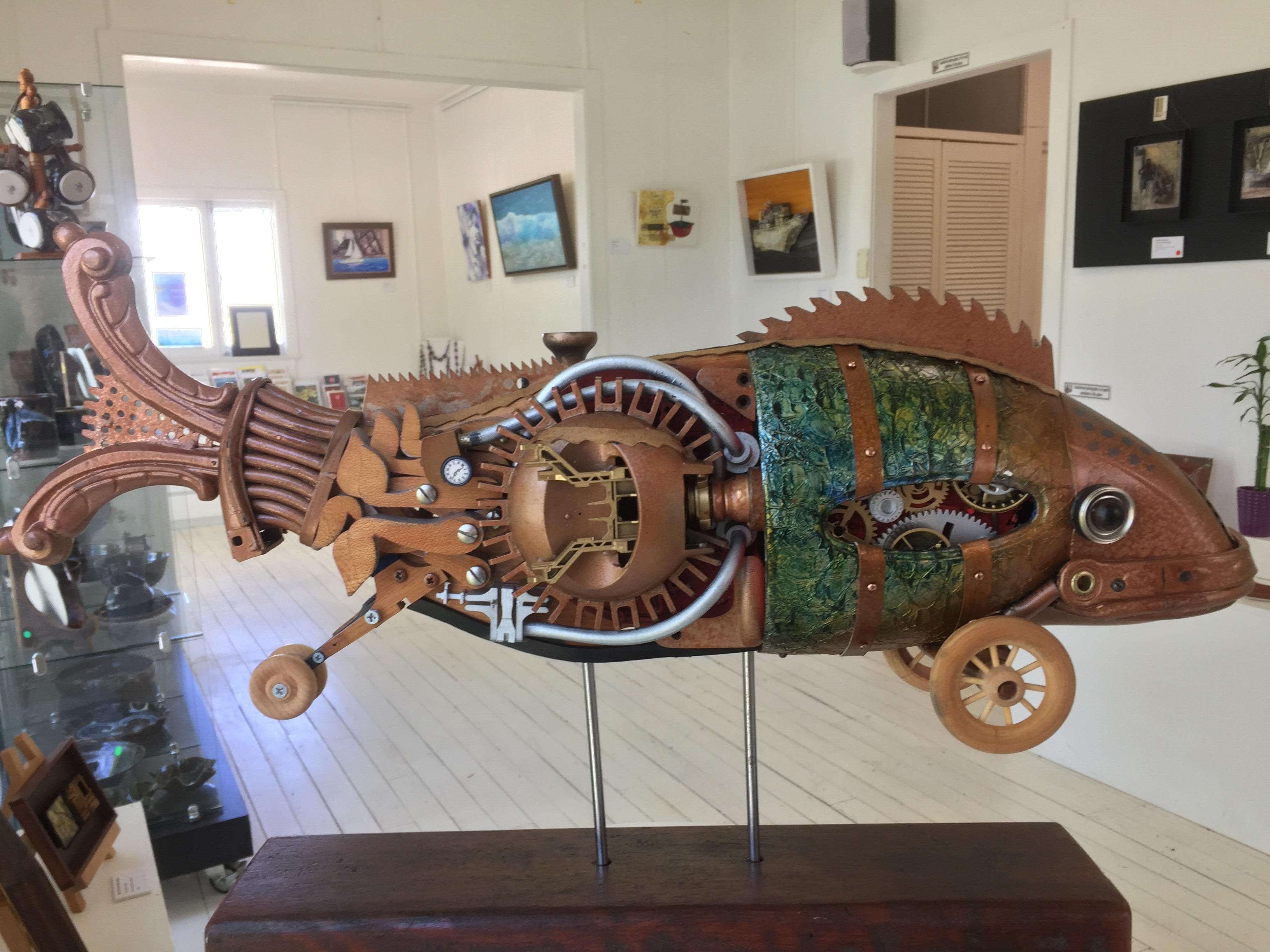Steampunk Fish 2