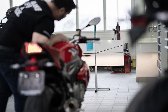 Motorrad MFK Aufbereitung. MFK Test für Motorräder. Aufgebot Strassenverkehrsamt Motorräder Luzern