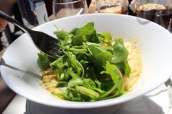 risotto aux légumes et pesto