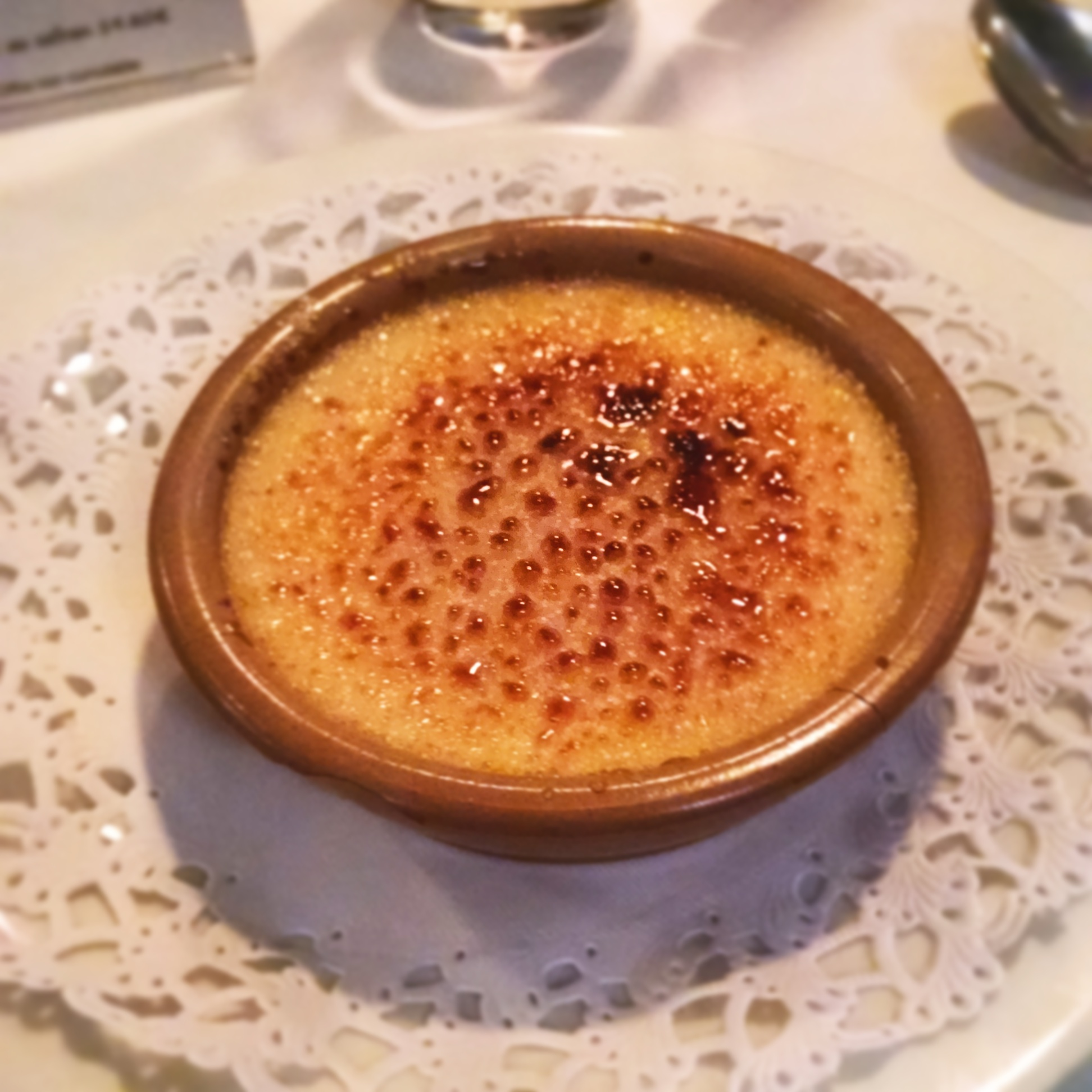 La crème brûlée