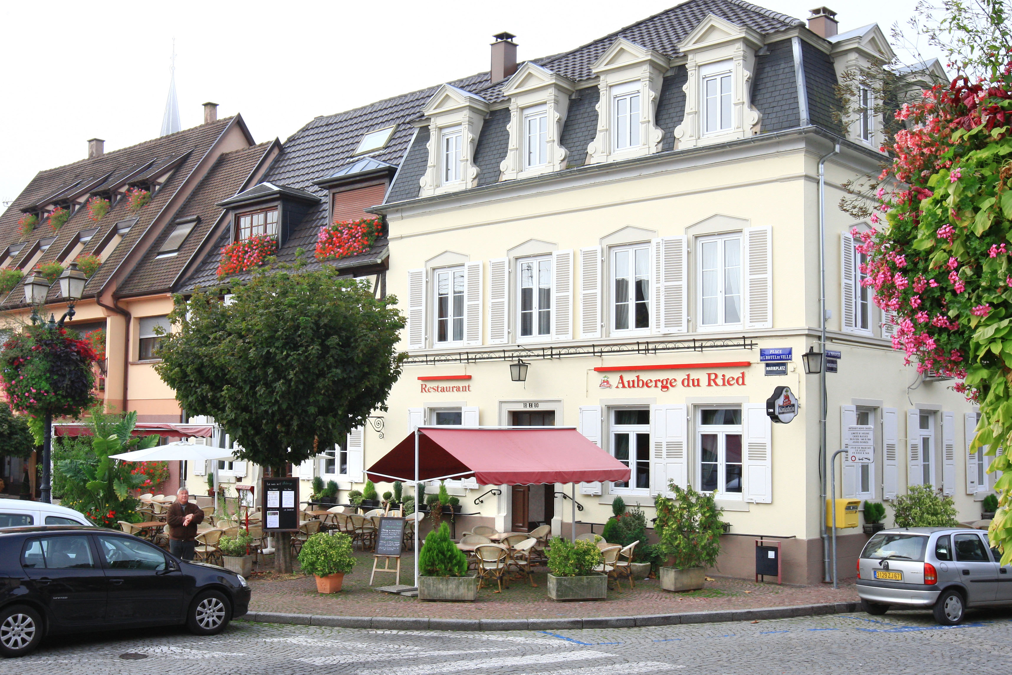 restaurants du ried