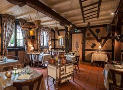 La salle du restaurant la Tocante