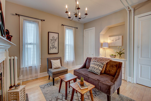 Bay View Sitting Room Stage & Style MKE