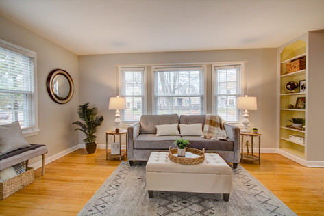 Whitefish Bay Living Room Stage & Style MKE