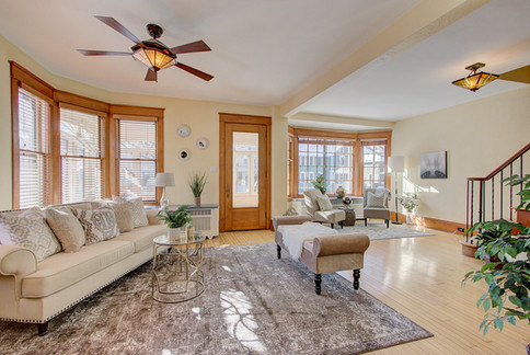 Bay View Living Room Stage & Style MKE