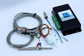 Paramotor engine instrument electronics
