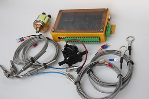 Two cylinder enin instrument electronics EFIS