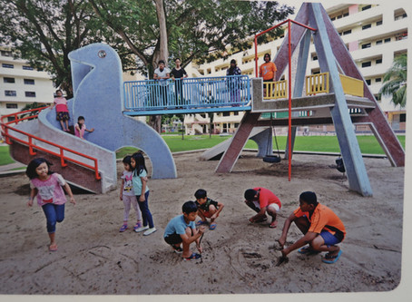 Lessons from Singapore:     Designing Child Friendly Neighbourhoods