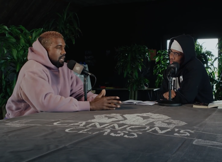 Kanye West Talks Sunday Service, Being Denied by Forbes, and Abortion on Cannon's Class