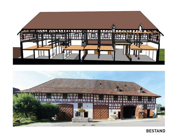 bestehendes Gebäude
