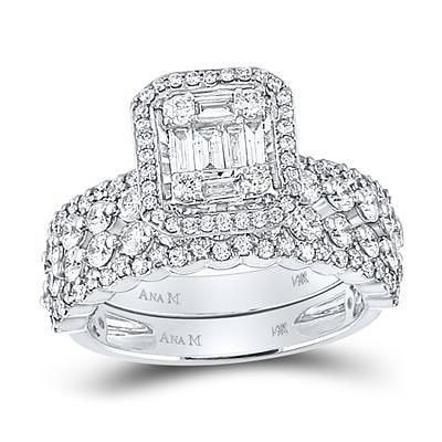 14K Diamond Engagement Ring 1