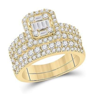 14K Gold & Diamonds Ring