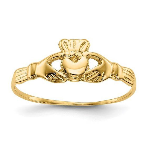 14K Children's Heart/Hand Ring