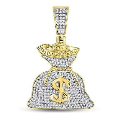 10KT Gold Dollar Bag